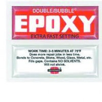 Hardman Double Bubble Red Epoxy