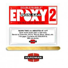 Hardman Double Bubble Red Non Sag Epoxy