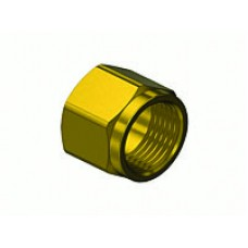"Brass Hose Nut, Std 9/16""-18 ""B"""