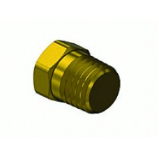 "Hex Head Plug, 1/4"" male thread"