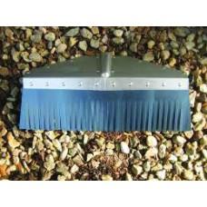 Kinney Metal Scraper, Steel Broom