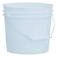 Plastic Pail with Lid, 1 Gallon