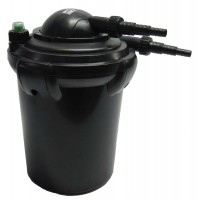 Pressurized Pond Filter, with Built-In UV Clarifier option, ECF10