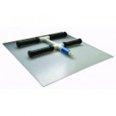 Membrane Air Diffusers Manifold with Backing Plate, 4 Membrane Manifold