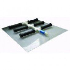 Membrane Air Diffusers Manifold with Backing Plate, 6 Membrane Manifold
