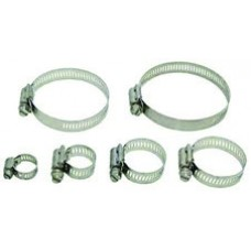 "Stainless Steel Hose Clamp, 5/16"" x 7/8"""