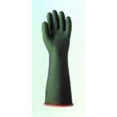 Heavy Duty Black Natural Rubber Glove