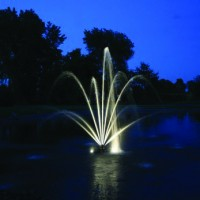 LED White Light Ring for 1/2 HP xStream Fountain