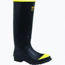 Durable Rubber Knee Boot - Plain Toe