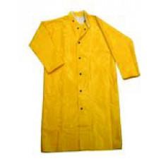 "Dura Quilt 48"" Long Coat with Hood"