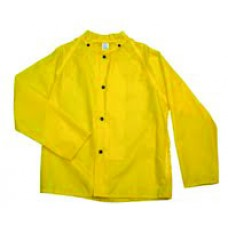 "Polyurethane Rain 30"" Jacket w Hood"