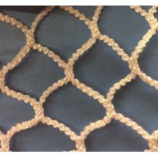 """Bulk Knotless Netting, 3/4"""" mesh"""