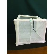 "Fish Net Cage, 4'x4'x2', 1/4"" mesh"