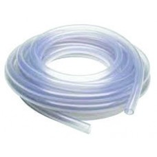"Clear Vinyl Tubing, 1/4"" ID x 3/8"" OD, Braided"