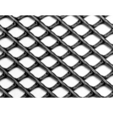 "Diamond Mesh Plastic Netting, 1/4"" x 1/4"""