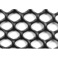 "Diamond Mesh Plastic Netting, 1/2"" x 1/2"""