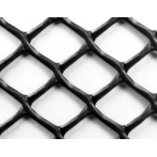 "Diamond Mesh Plastic Netting, 3/4"" x 3/4"""