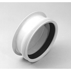 Ringlock Female Cap - Epoxy Coated Steel with Gasket 6""
