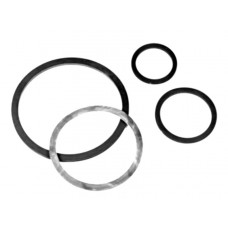 Buna/Black Rubber Camlocking Gasket 6""