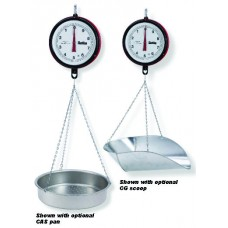 Chatillon Hanging Dial Scale - with hook. 40 lb x 1 oz
