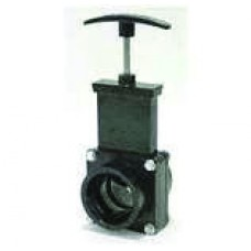 "Val-Terra Knife Gate Valve, 3"" ABS"