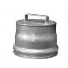 """Ringlock Female Cap - Epoxy Coated Steel with Gasket 10"""""""
