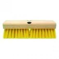Tuftex Yellow Nylon Bristle Deck Brush