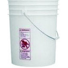 Plastic Pail with Lid, 5 Gallon