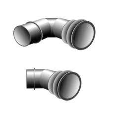"Galvanized Steel Ringlock Elbows, 6"""